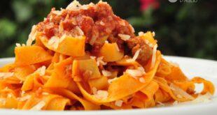 Tagliatelle al ragu di salsiccia: la ricetta