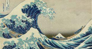 grande onda di Kanagawa Tokyo2020