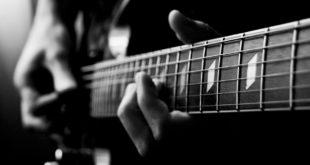 zoom su chitarra