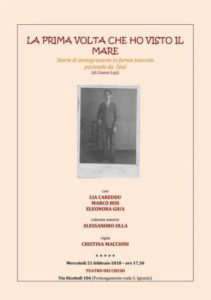 Spett Teatrale SUCANIA e1519072609492 Corso Sucania sulle migrazioni: Ultima lezione