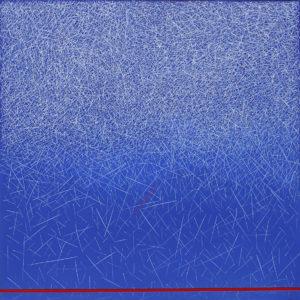op 85 maurizio cattaneo composizione astratta 22A 016 mista su tela 60x60 Finale del premio internazionale Marchionni