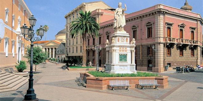 piazza eleonora  oristano