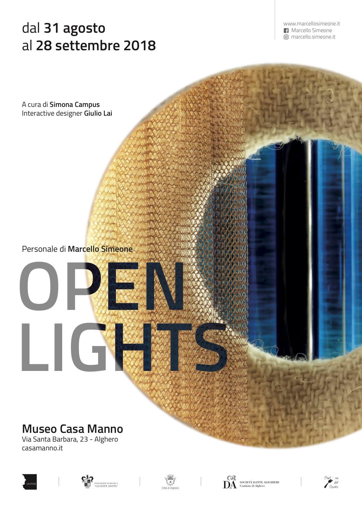 Open Lights Open Lights: in mostra le opere di Marcello Simeone