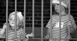 62 bambini dietro la sbarre carceri