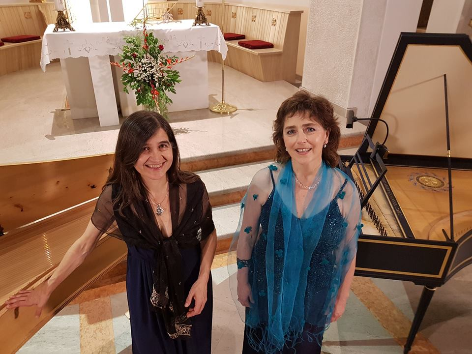 Maria Luisa Baldassari e Laura Antonaz Festival Echi lontani omaggia Niccolò Porpora