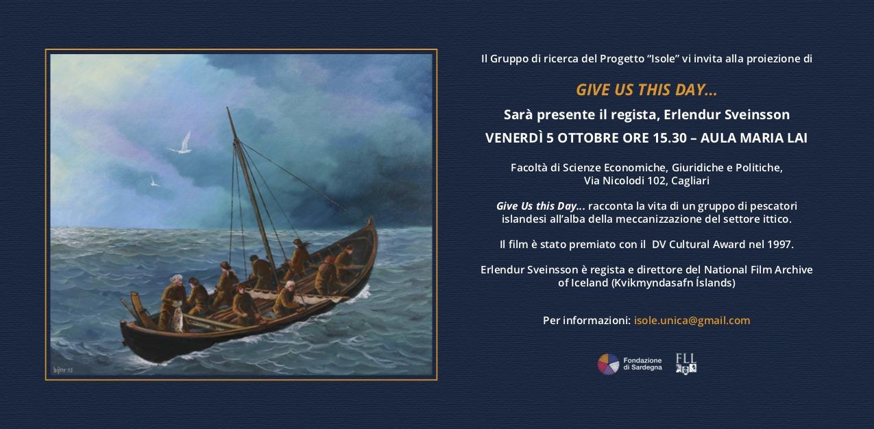 Give us this day Isole, Isolanità, Insularità in un convegno internazionale