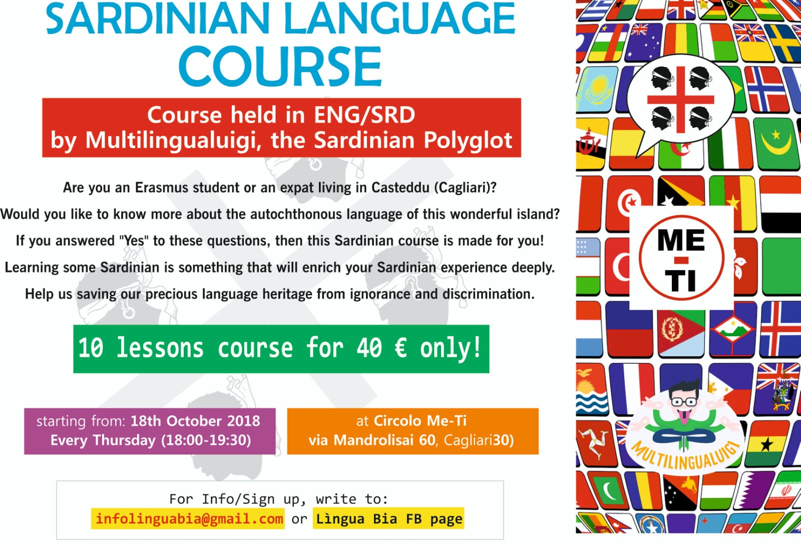 IMG 20181001 WA0000 Corso di Sardo in Inglese per stranieri e studenti Erasmus