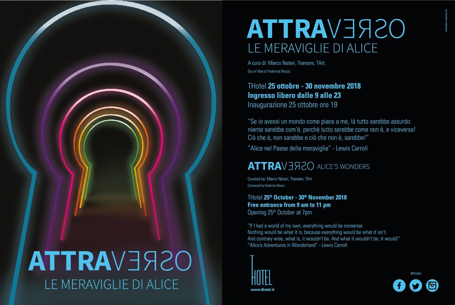 image001 Il TArt presenta l'esposizione AttraVerso le Meraviglie di Alice