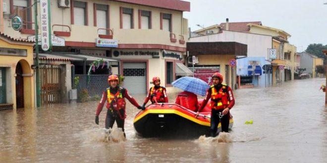 alluvione disagi