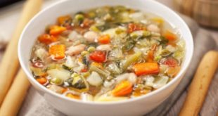 minestrone piatto