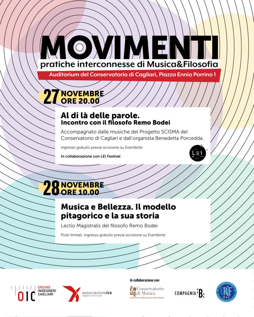 Movimenti Pratiche Interconnesse di MusicaFilosofia Movimenti: due giorni di musica e filosofia al conservatorio
