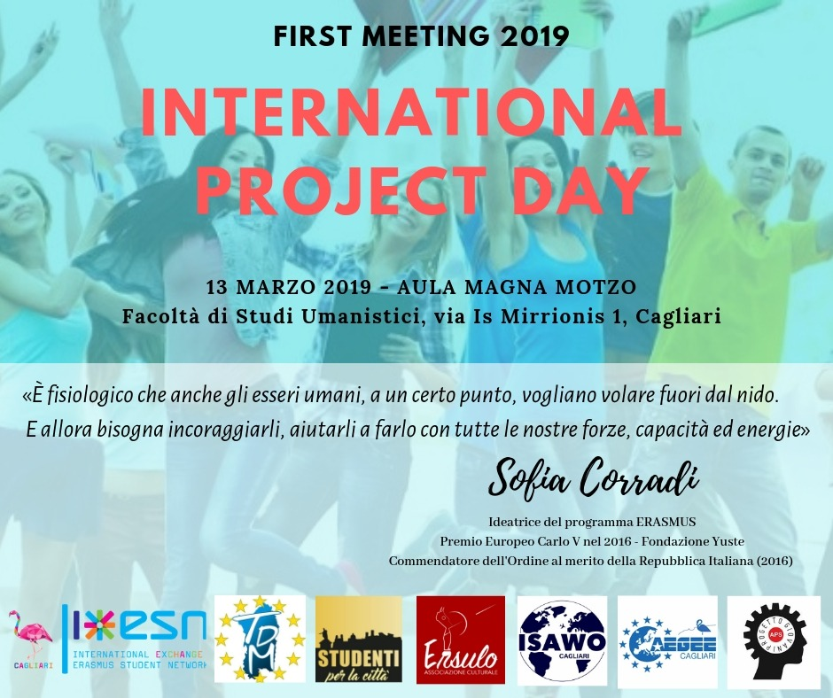 International project day International Project Day  First Associations Meeting 2019