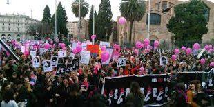 sciopero al femminile