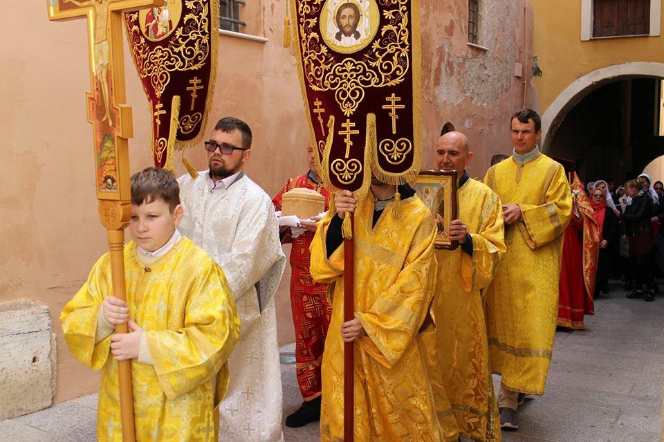 2 CAGLIARI PASQUA ORTODOSSA 2018 Celebrazione a Cagliari della Pasqua ortodossa