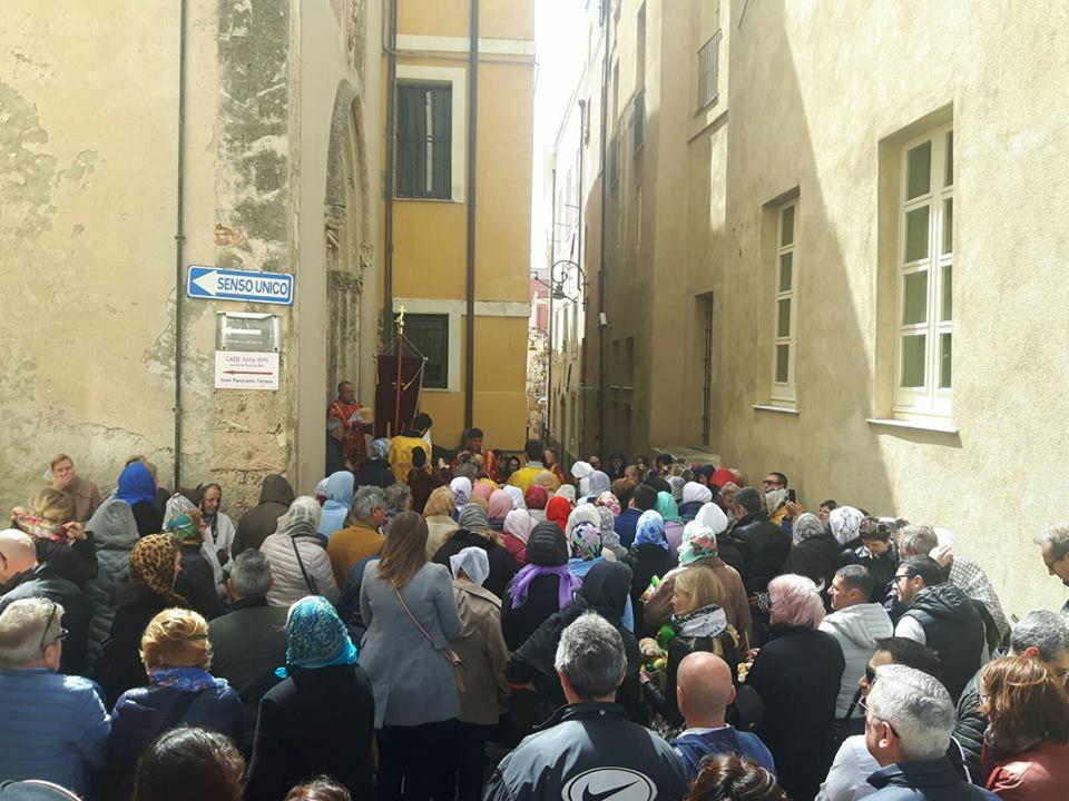 3 CAGLIARI PASQUA ORTODOSSA 2018 Celebrazione a Cagliari della Pasqua ortodossa