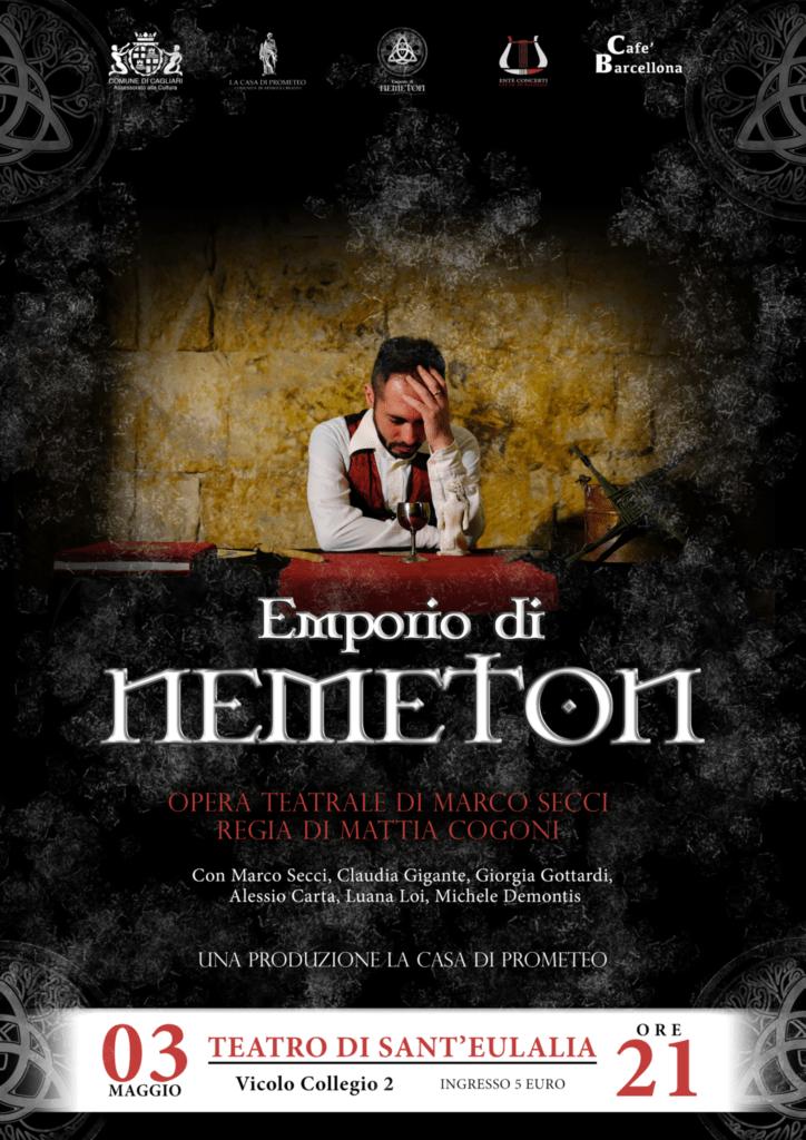 Locandina EmporiodiNemeton definitiva WEB L'emporio di Nemeton - Intervista a Marco Secci