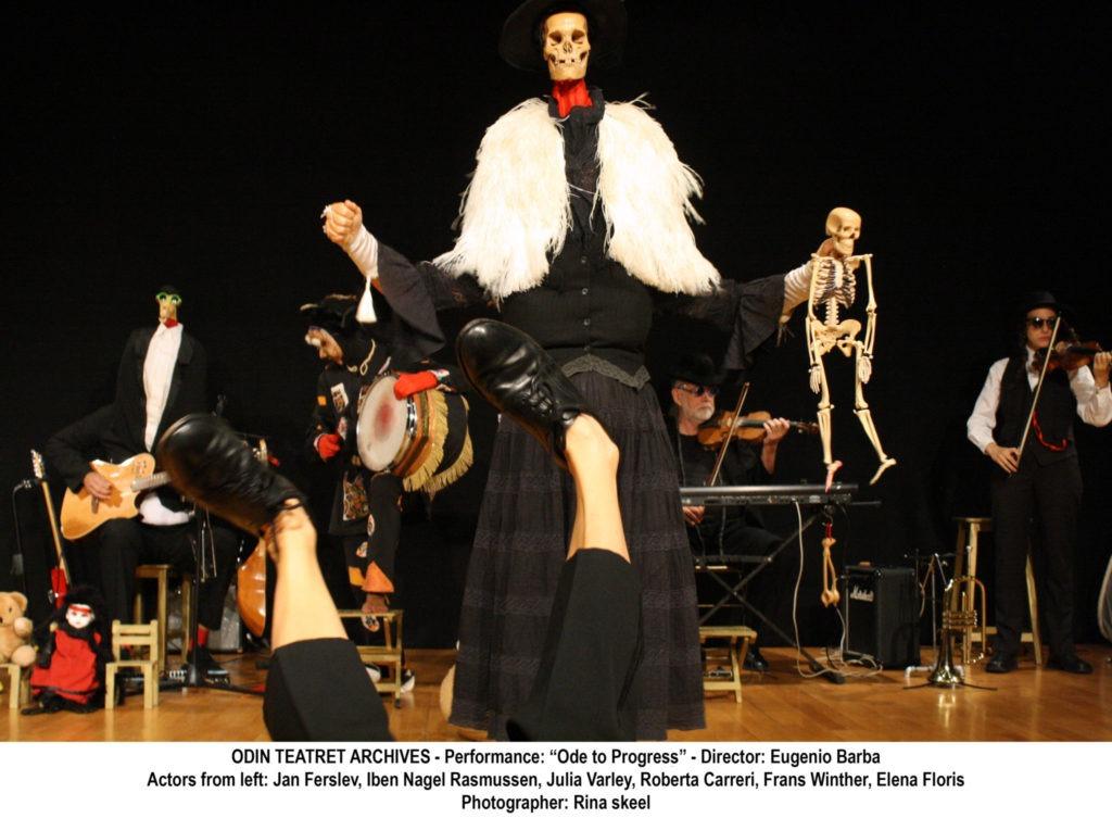 Ode al Progresso Odin Teatret photo Rina Skeel.jpg Festival Sant'Arte: Eugenio Barba e l'Odin Teatret