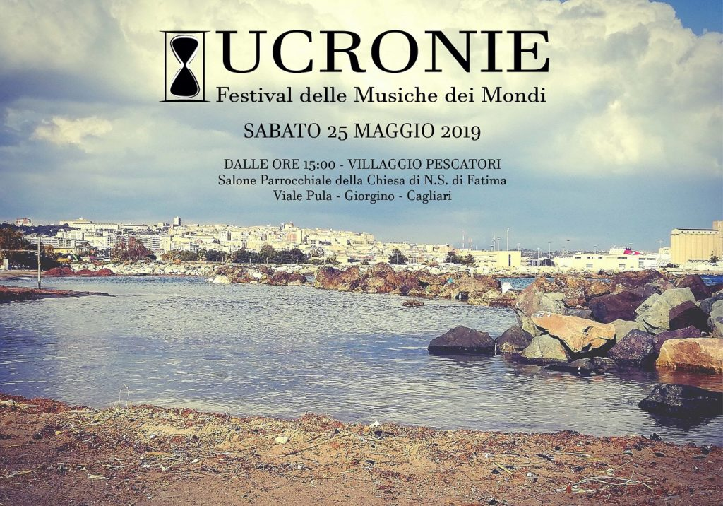 2019 05 25 VILLAGGIOPESCATORI PRESENTAZIONE UCRONIE LOCANDINA Presentazione di Ucronie 2019 a Cagliari