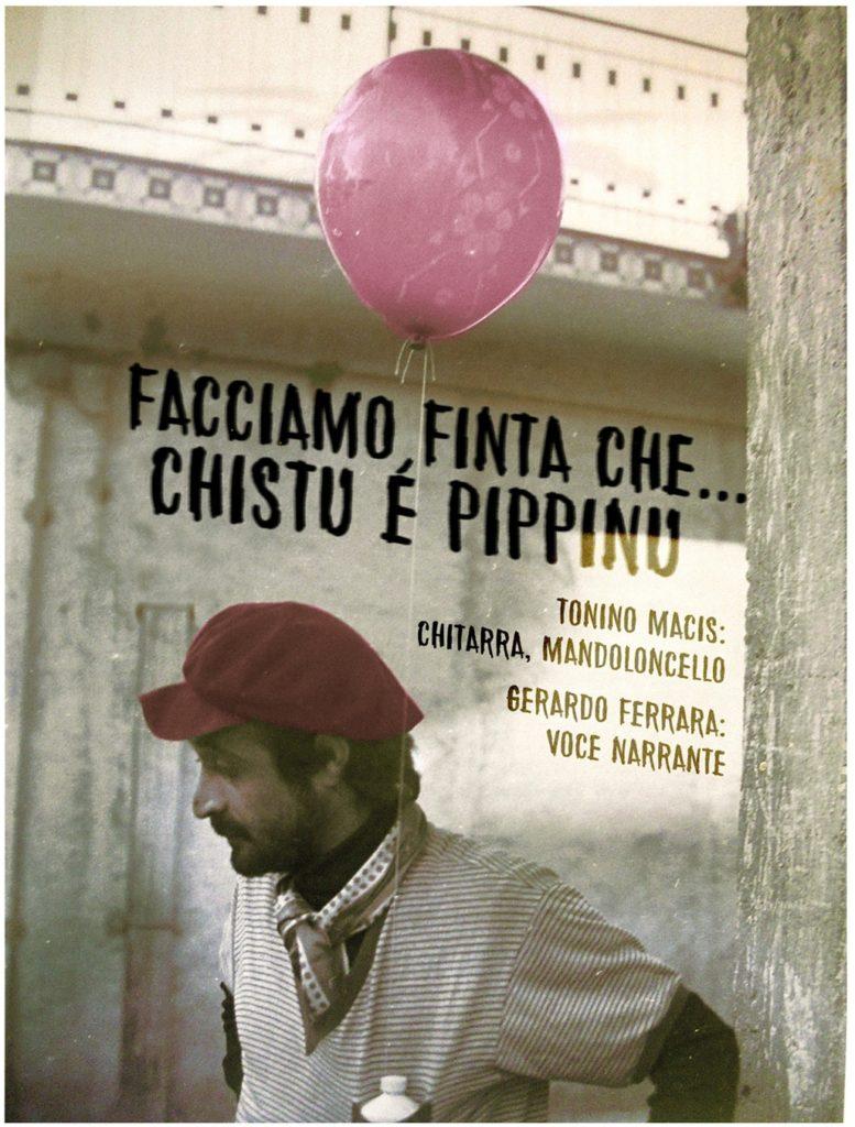 locandina A Sanluri un recital dedicato a Peppino Impastato