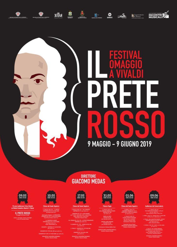 """locandina rassegna vivaldi Il genio di Vivaldi protagonista al """"Il prete rosso"""""""