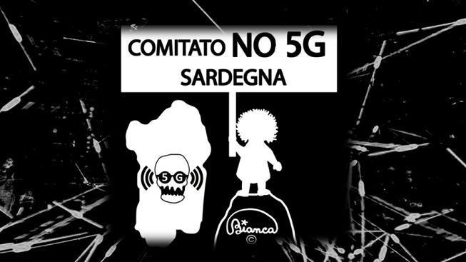 """64981567 2245518012198592 1159087501390905344 n Cagliari flash mob per dire no al 5G: """"Non siamo cavie"""""""