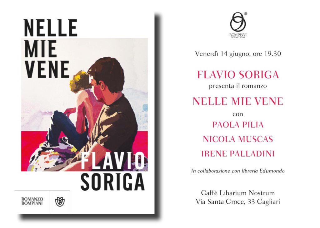 """PHOTO 2019 05 24 11 03 32 1 Flavio Soriga presenta """"Nelle mie vene"""""""