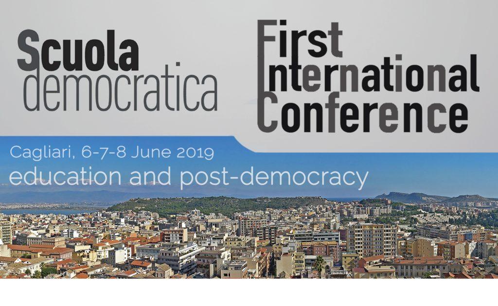 scuola democratica hp 1 A Cagliari la prima conferenza internazionale di Scuola Democratica