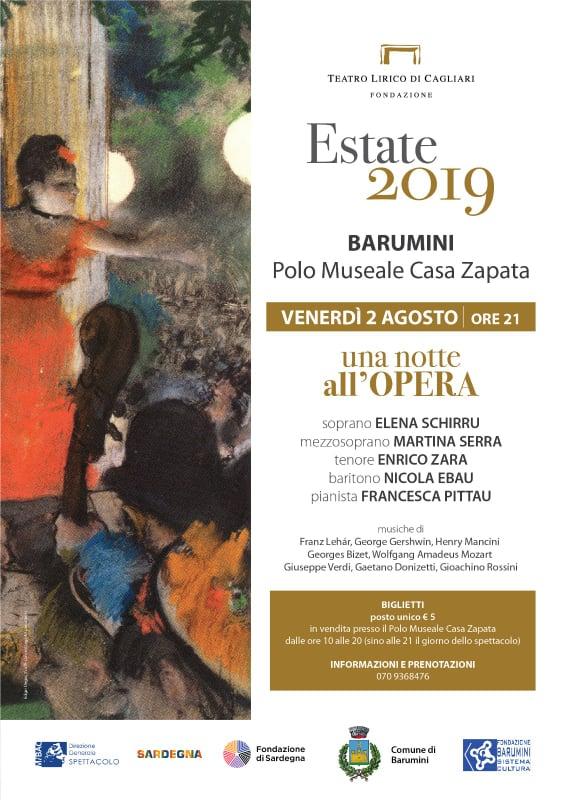 67295784 463602777524187 1340260775398211584 n Casa Zapata a Barumini ospita Una notte all'opera