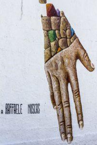 Raffaele Muscas murale di O.C. Martinez   foto di Alberto Mossa Sabato e domenica a San Sperate per Cuncambias