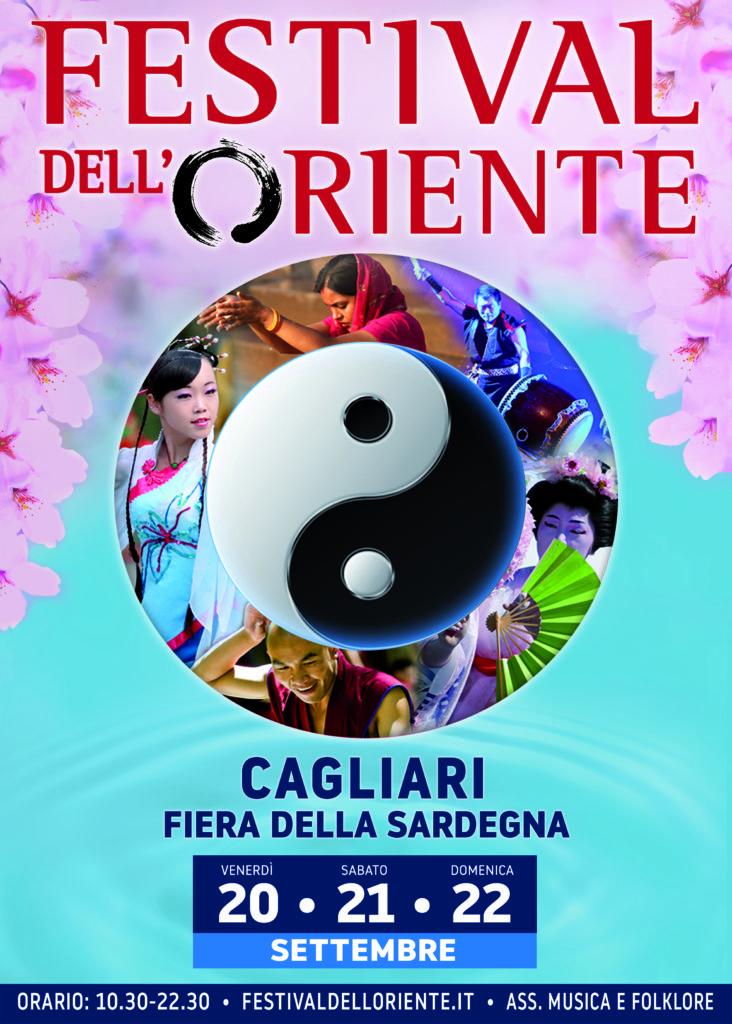 locandina ORIENTE CAGLIARI 2019 HD A Cagliari il Festival dell'Oriente: Prima Edizione