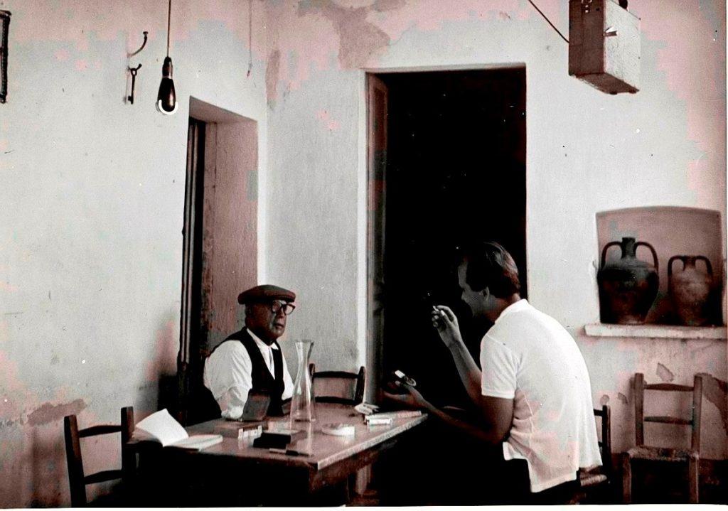 1962 Villaputzu Andreas Bentzon con Antonio Lara Is sonus de is perdas fittas: concerti,mostre al villaggio di San  Simone