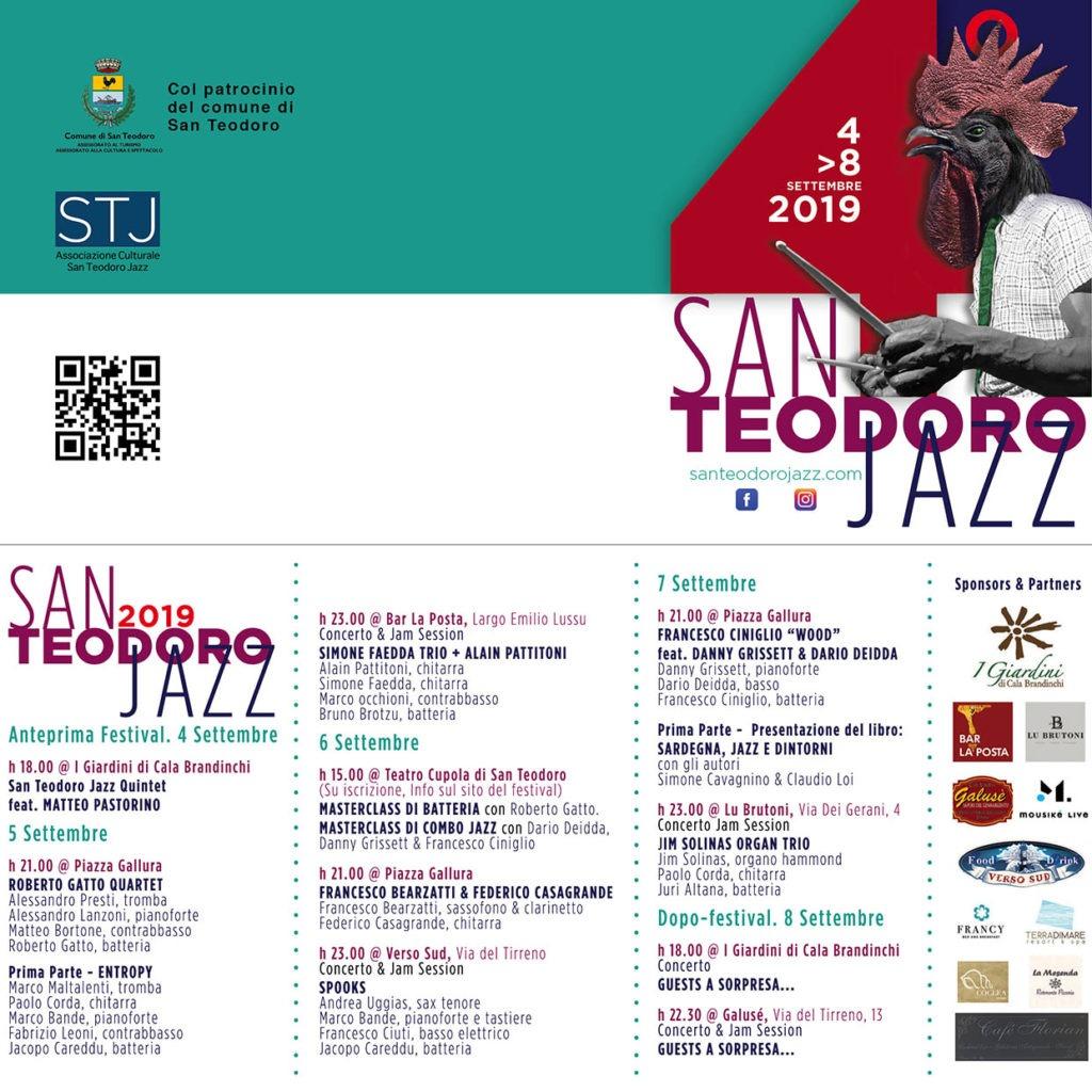 San Teodoro Jazz Festival 2019 programma 1 Il quartetto di Roberto Gatto al San Teodoro Jazz