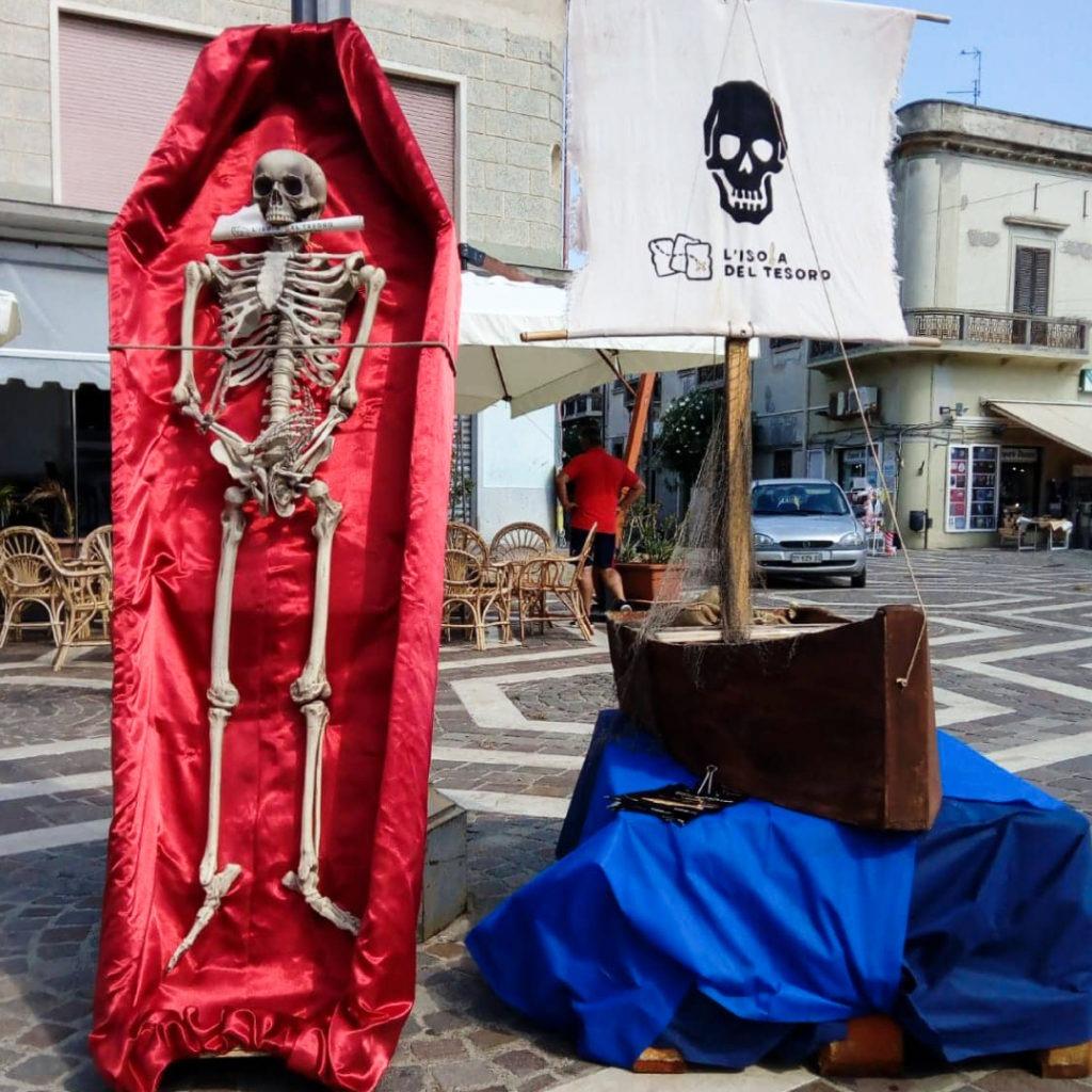 allestimenti SantAntioco Pirati a Sant'Antioco, caccia al tesoro 7-8 settembre