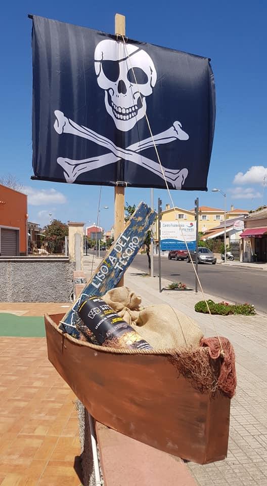 allestimento SantAntioco 2 Pirati a Sant'Antioco, caccia al tesoro 7-8 settembre