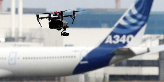 drone aereoporto