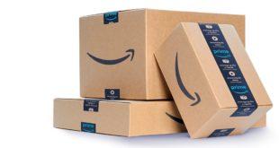 scatole di Amazon