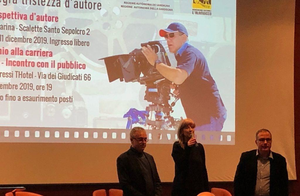 IMG 3618 1 Carlo Verdone a Cagliari, riceve il Premio alla carriera