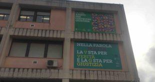Facciata istituto Marconi di Cagliari