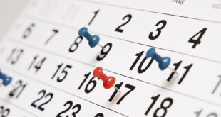 calendario e puntine