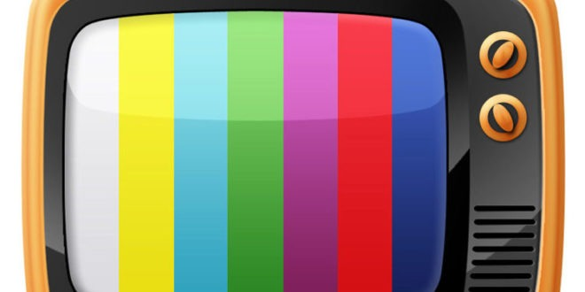Televisione test segnale