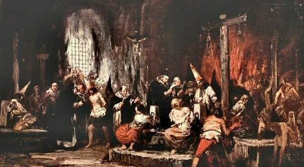 quadro sull'inquisizione