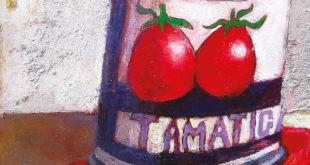 Quadro scatola pomodori
