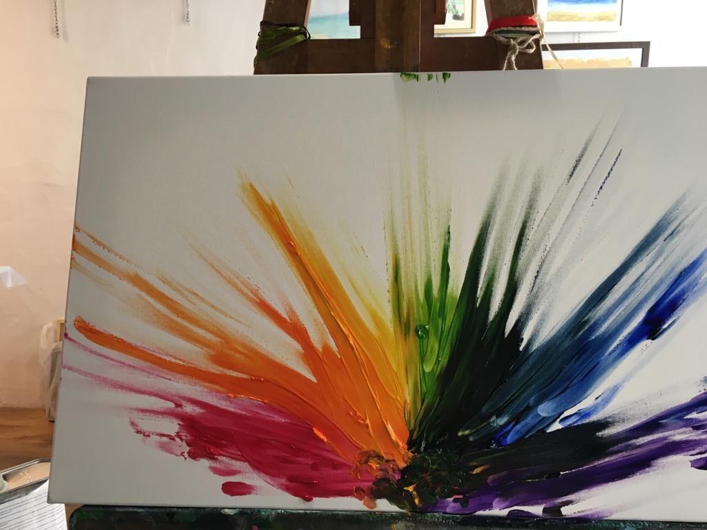 luce Andrea Ferrero: pittore cieco. Mani, colore ed anima oltre le barriere