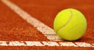 tennis pallina e campo
