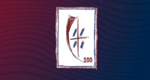 centenario rosso blu