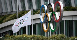 Immagine con i cinque cerchi delle Olimpiadi