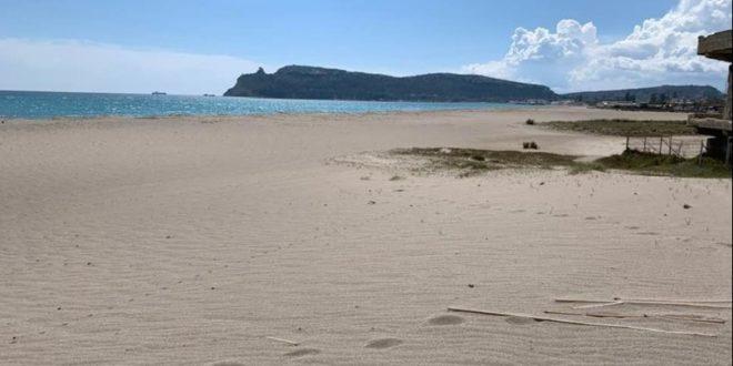 La spiaggia .