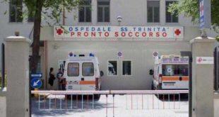 L'ospedale Santissima Trinità di Cagliari