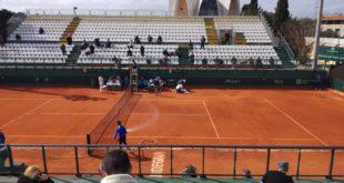 Lo stadio centrale del Tennis Club Cagliari