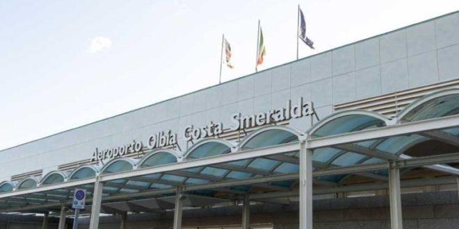 L'aeroporto di Olbia, Sardegna